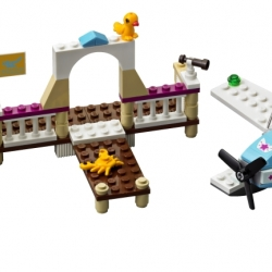 Lego Friends 3063 Letecký klub Heartlake sestaveno