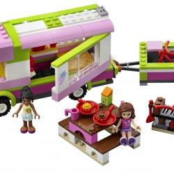 Lego Friends 3184 Karavan sestaveno