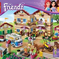 Lego Friends 3185 Prázdninový jezdecký tábor