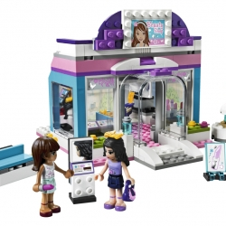 Lego Friends 3187 Salón krásy u Motýla sestaveno