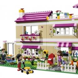 Lego Friends 3315 Olivia a její dům sestaveno