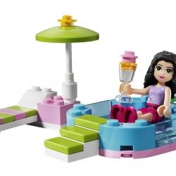 Lego Friends 3931 Ema v bazénku sestaveno