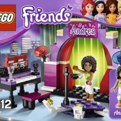 Lego Friends 3932 Andrea na pódiu