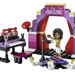 Lego Friends 3932 Andrea na pódiu sestaveno