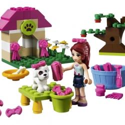 Lego Friends 3934 Mia a bouda pro štěňátko sestaveno