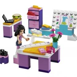 Lego Friends 3936 Ema a její návrhářské studio sestaveno