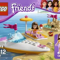 Lego Friends 3937 Olivia a motorový člun