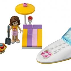 Lego Friends 3937 Olivia a motorový člun sestaveno