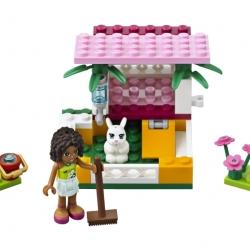 Lego Friends 3938 Andrea a její králíkárna sestaveno