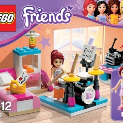 Lego Friends 3939 Miina ložnice