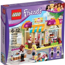 Lego Friends 41006 Pekarna v centru 1