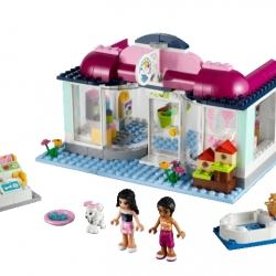 Lego Friends 41007 Zvířecí salón v Heartlake sestaveno