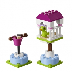 LEGO Friends 41024 Papoušek na bidýlku sestaveno