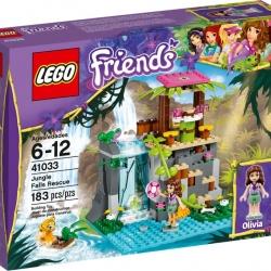LEGO Friends 41033 Záchrana u vodopádů v džungli
