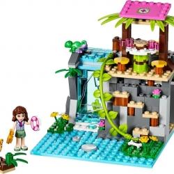 LEGO Friends 41033 Záchrana u vodopádů v džungli sestaveno