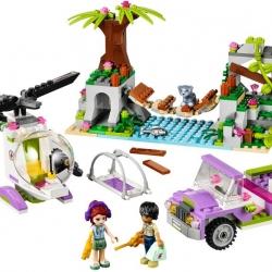 LEGO Friends 41036 Záchrana na mostě v džungli sestaveno
