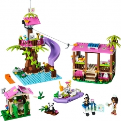 LEGO Friends 41038 Základna záchranářů v džungli sestaveno