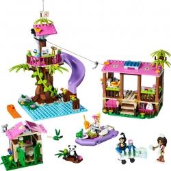 LEGO Friends 41038 Základna záchranářů v džungli sestaveno