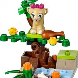 LEGO Friends 41048 Lvíče v savaně sestaveno