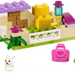 LEGO Friends 41087 Králíček s mláďaty sestaveno