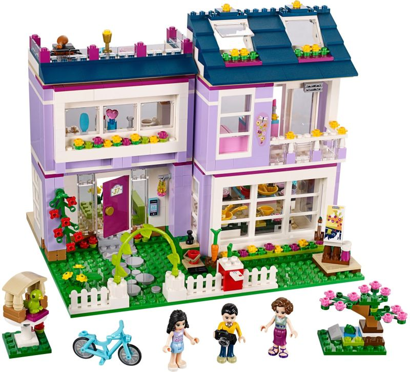 LEGO Friends 41095 Emmin dům sestaveno