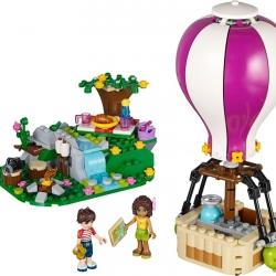 LEGO Friends 41097 Horkovzdušný balón v Heartlake sestaveno