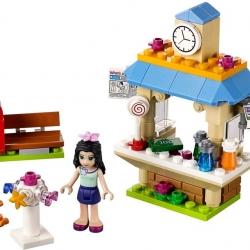 LEGO Friends 41098 Andrejin stánek pro turisty sestaveno
