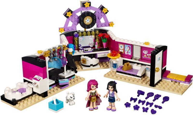 LEGO Friends 41104 Šatna pro popové hvězdy sestaveno