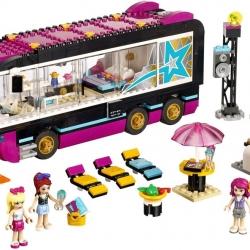 LEGO Friends 41106 Autobus pro turné popových hvězd sestaveno