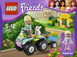 Lego Friends 3935 Stephanie zachraňuje zvířátka