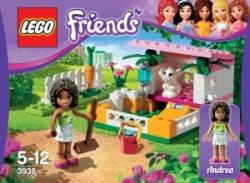 Lego Friends 3938 Andrea a její králíkárna