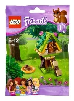 Lego Friends 41017 Domek na stromě pro veverku