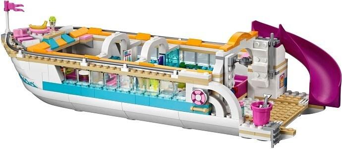 LEGO Friends 41015 Výletní loď za delfíny vnitřek