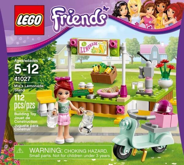 LEGO Friends 41027 stánek s limonádou