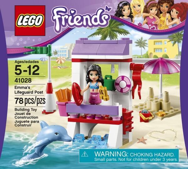 LEGO Friends 41028 Ema na stanovišti plavčíka