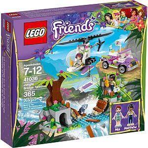 Obrázek LEGO Friends Záchrana na mostě v džungli