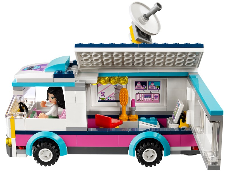 LEGO Friends 41056 Heartlake News Van