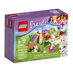 Krabice LEGO Friends 41087 Králíček s mláďaty