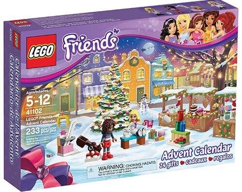 Stavebnice LEGO Friends 41102 Adventní kalendář