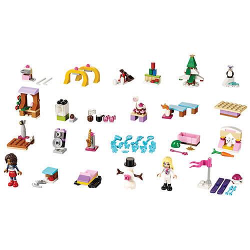 Díly setu LEGO Friends Adventní kalendář 2015