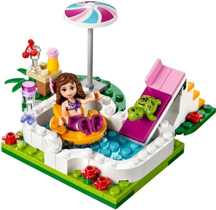 LEGO Friends zahradní bazén