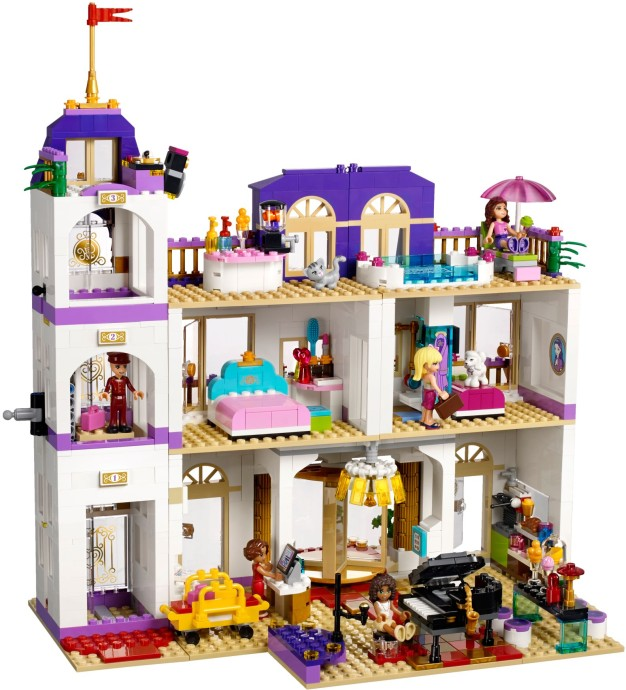 LEGO Friends Grand Hotel v Heartlake