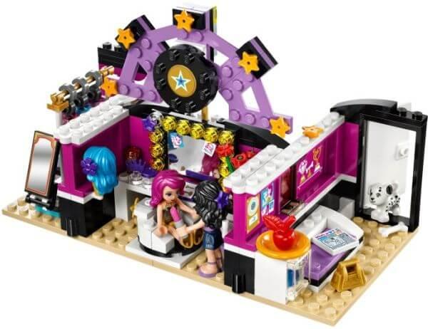 LEGO Friends Šatna popové hvězdy