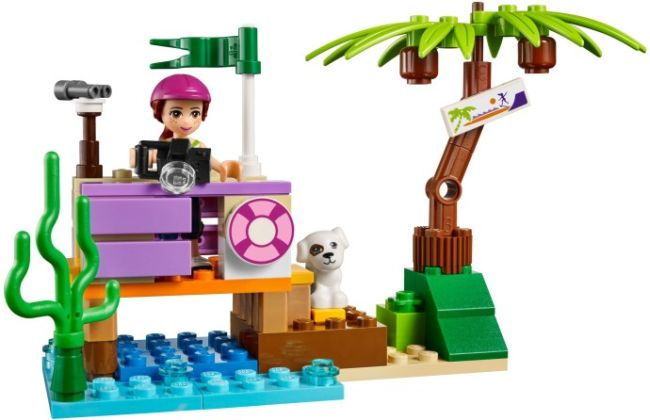 LEGO Friends Mia a pejsek ve skateparku