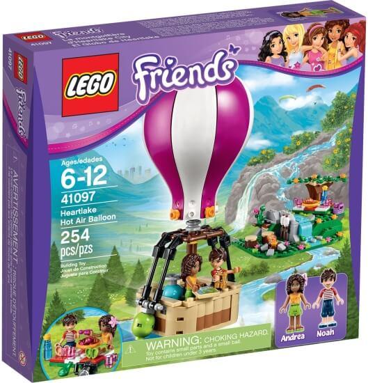 Stavebnice LEGO Horkovzdušný balón v Heartlake