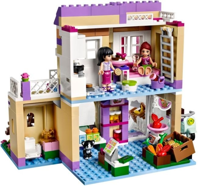 LEGO Friends trh s potravinami