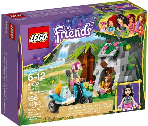 Stavebnce LEGO Friends Motorka do džungle