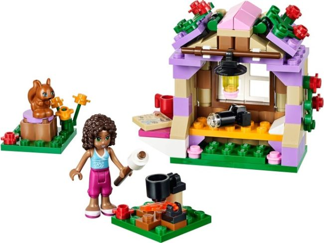 LEGO Friends 41031 Horská chata Andrey sestaveno