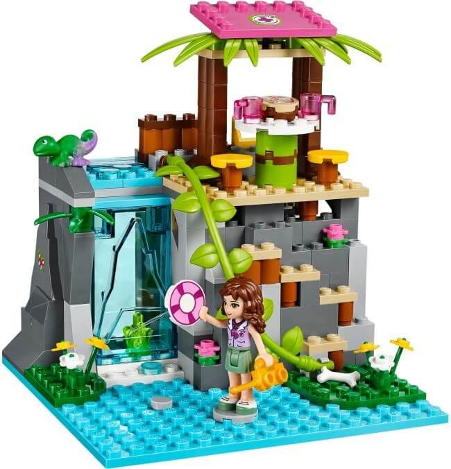 Olivia a Záchrana u vodopádů v džungli