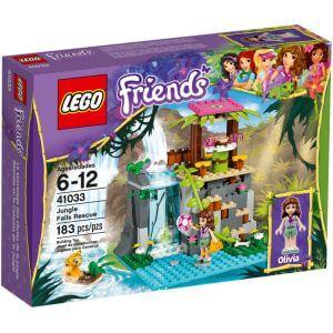 Stavebnice LEGO Friends 41033 Záchrana u vodopádů v džungli